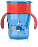 Show details for Philips Avent cup with 360 drinking capacity 9M +, blue with red