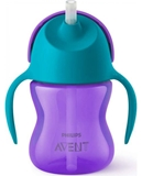 Show details for PHILIPS AVENT WITH ELASTIC STRAW, 200 ML, 9M +, PURPLE