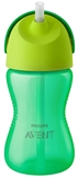 Show details for PHILIPS AVENT WITH ELASTIC STRAW, 300 ML, 12M +, green