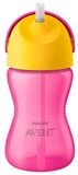Show details for PHILIPS AVENT WITH ELASTIC STRAW, 300 ML, 12M +, Pink