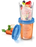 Show details for Philips Avent Baby Food Storage Cups 240 ml 5 psc