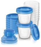 Show details for PHILIPS AVENT BABY FOOD STORAGE CUPS 180 ML 10 PSC