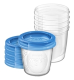 Show details for PHILIPS AVENT BABY FOOD STORAGE CUPS 180 ML 5 PSC