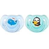 Show details for Philips Avent Classic pacifier 2 psc. 6-18 M Boys