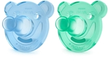 Show details for PHILIPS AVENT SOOTHIE SHAPES PACIFIER  3M+, 2 PSC. Boys