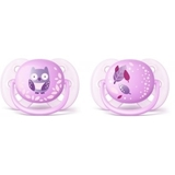 Show details for PHILIPS AVENT ULTRA SOFT DECO PACIFIER  0-6 M, 2 PSC GIRLS
