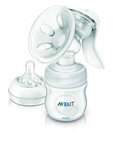 Show details for Philips Avent Manual breast pump with bottle